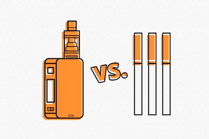Vaping or Smoking